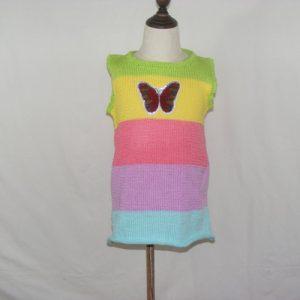 Robe multicolores