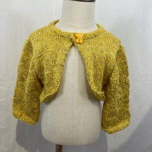 gilet court jaune